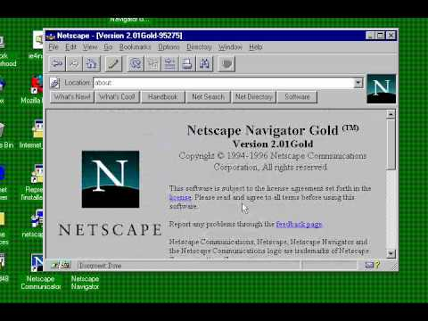 Netscape Navigator  2.01