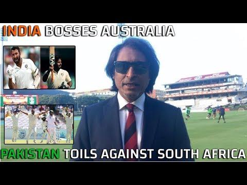 India Bosses Australia, Pakistan Toils Against South Africa | Ramiz Speaks