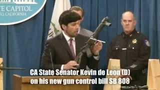 Anti-Gun Senator Makes a Fool of Himself