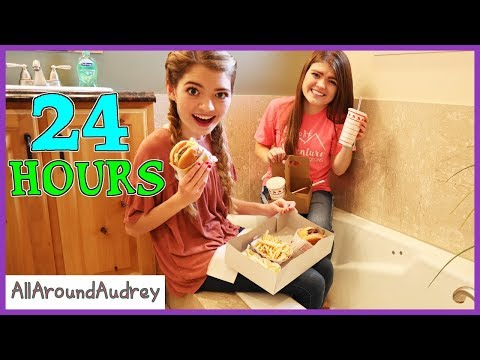 24 Hours In Bathroom - Face Your Fears - GERMS! / AllAroundAudrey