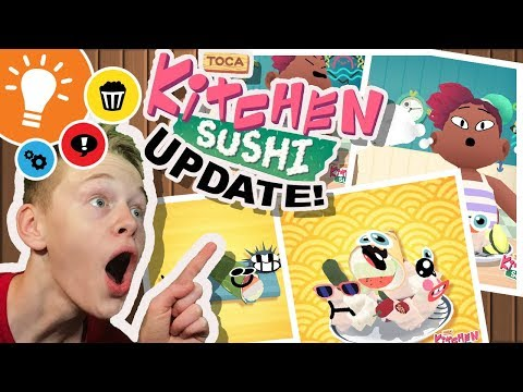 NEW! | Toca Sushi Kitchen UPDATE OUT NOW! | by Toca Boca | Gameplay | Premiere Launch!