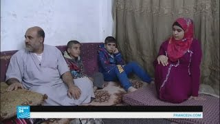 بصمة العين نظام جديد لصرف المعونات للاجئين السوريين في الأردن