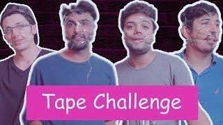 INSANE TAPE CHALLENGE WITH MY BOYFRIENDS !!!