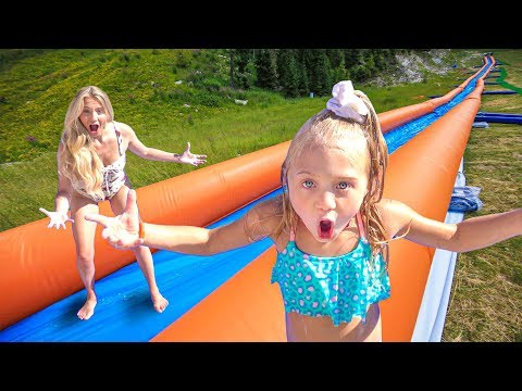 WE TURNED OUR BACKYARD INTO THE WORLDS LARGEST WATERSLIDE