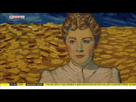 Loving Vincent - Sky News Clip