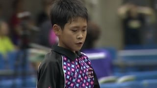 【全農杯 全日本卓球選手権大会 ホープス・カブ・バンビの部】ダイジェスト⑬