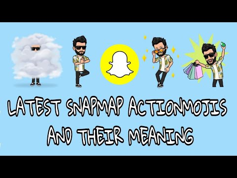 Snapchat map meanings 2018
