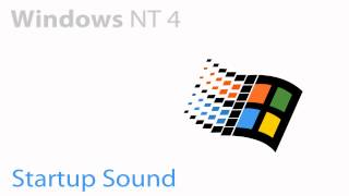 Windows NT 4.0 Startup Sound