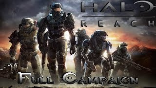 Halo Reach | Full Campaign Gameplay / Playthrough [ No Commentary ]