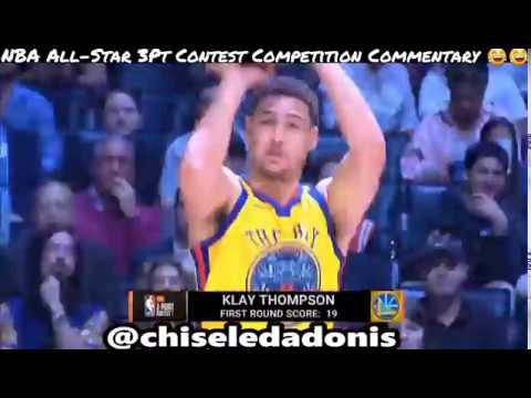 NBA AllStar Weekend 3 Point Contest Commentary