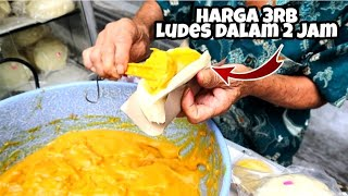 Download Mp3 Viral !!! 2 Jam Ludes Harganya Cuma 3rb - Roti Kukus Srikaya - Indonesian Street