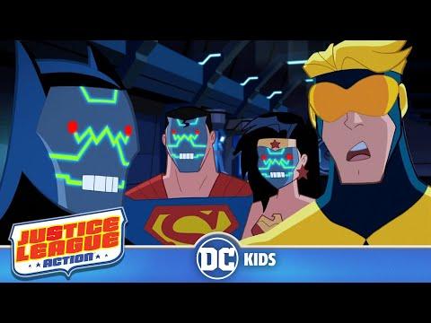Justice League Action | Robot Rumble | DC Kids