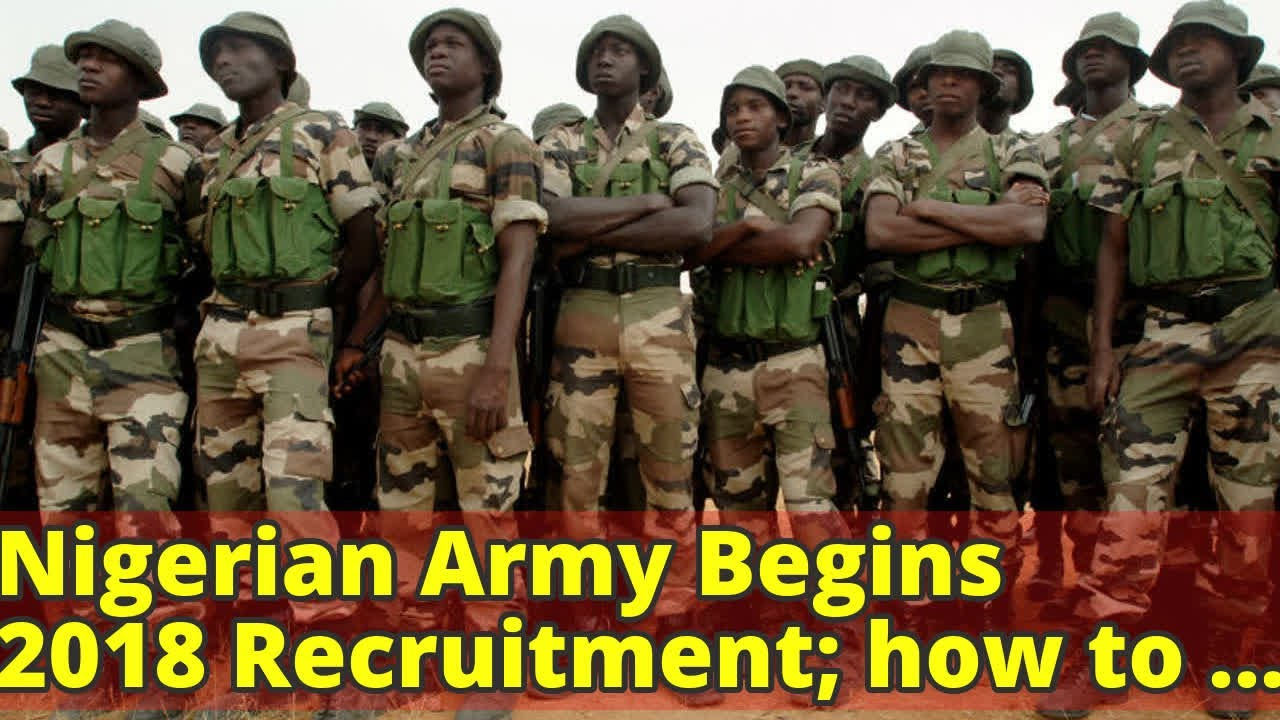 Nigerian Army Recruitment 2019/2020 Form and 78RRI Guideline