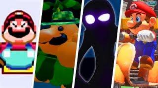 Evolution of Weird Super Mario Levels (1985 - 2019)