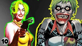 Top 10 Scary Alternate Versions Of The Joker