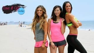 Fit & Fabulous Fun With Chriselle Lim | Tone It Up Tuesdays