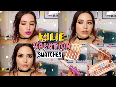 Kylie Cosmetics Vacation Collection HONEST Review + GIVEAWAY! ✨