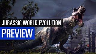 Jurassic World Evolution PREVIEW - Vorschau zum Dino-Aufbauspiel