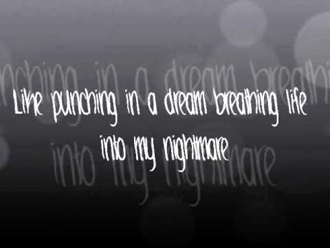 Punching in a Dream- The Naked and Famous (Lyrics)