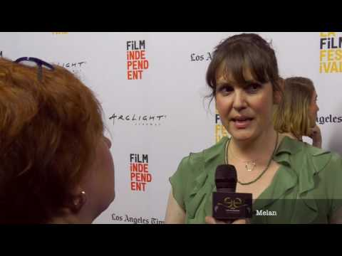 2017 Los Angeles Film Festival  Carpet Chat with Melanie Lynskey