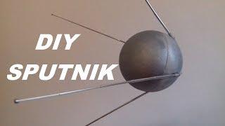 Sputnik Model doe - het-zelf Bouwen van uw eigen satelliet te vieren de 60ste Verjaardag van de lancering van het