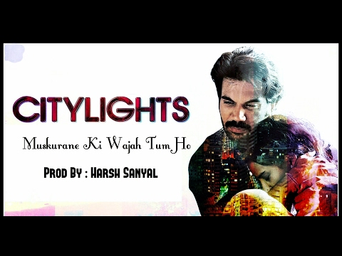 Muskurane Ki Wajah Tum Ho - Instrumental Cover Mix (Citylights)  | Harsh Sanyal |