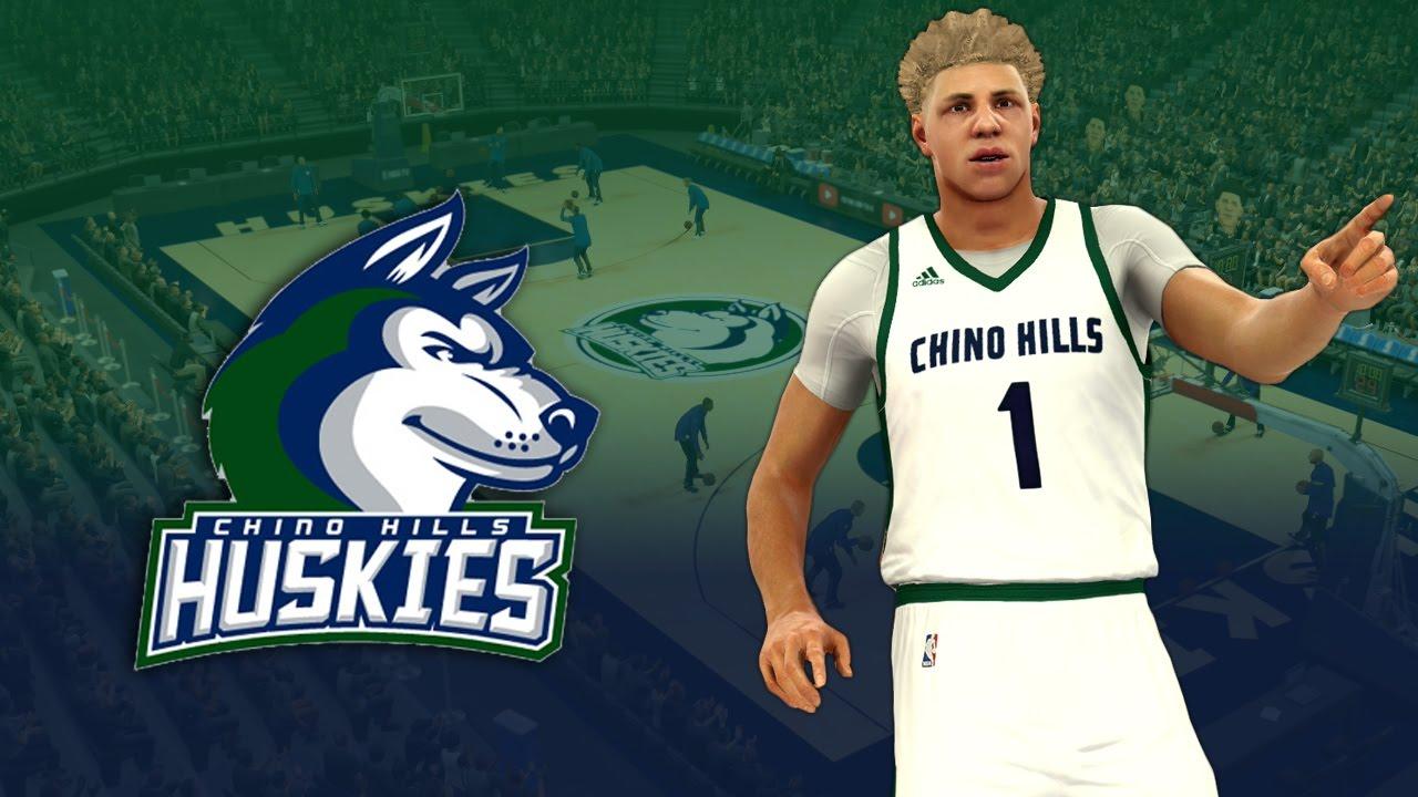 b25bf25c5 NBA 2K17 2016-17 Chino Hills Huskies Jersey   Court Tutorial - YouTube
