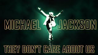 Michael Jackson - They Don't Care About Us (Uncensored Version) [Bass Boosted]