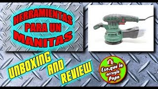 Review lijadora Parkside PEXS 270 B2, Herramientas para un manitas thumbnail
