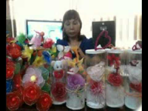 Hướng dẫn làm hoa voan nghệ thuật