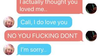 Straight | Sad Breakup Text Story