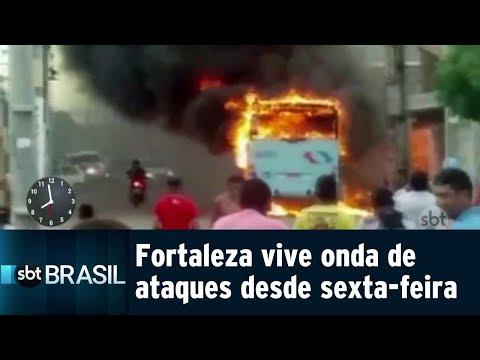 Bandidos lançam granada em frente a delegacia de polícia no Ceará | SBT Brasil (30/07/18)