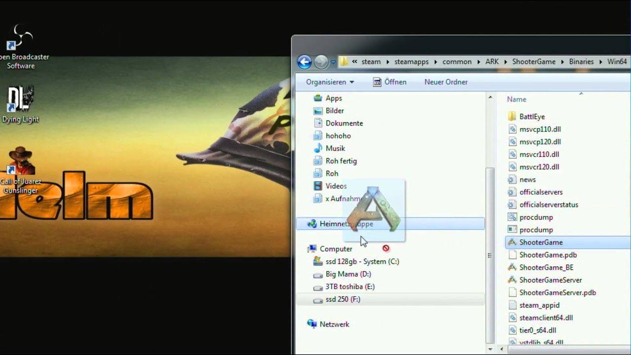 Ark Survival Evolved - Spiel Startet nicht - BattlEye - So Startet Ark  wieder