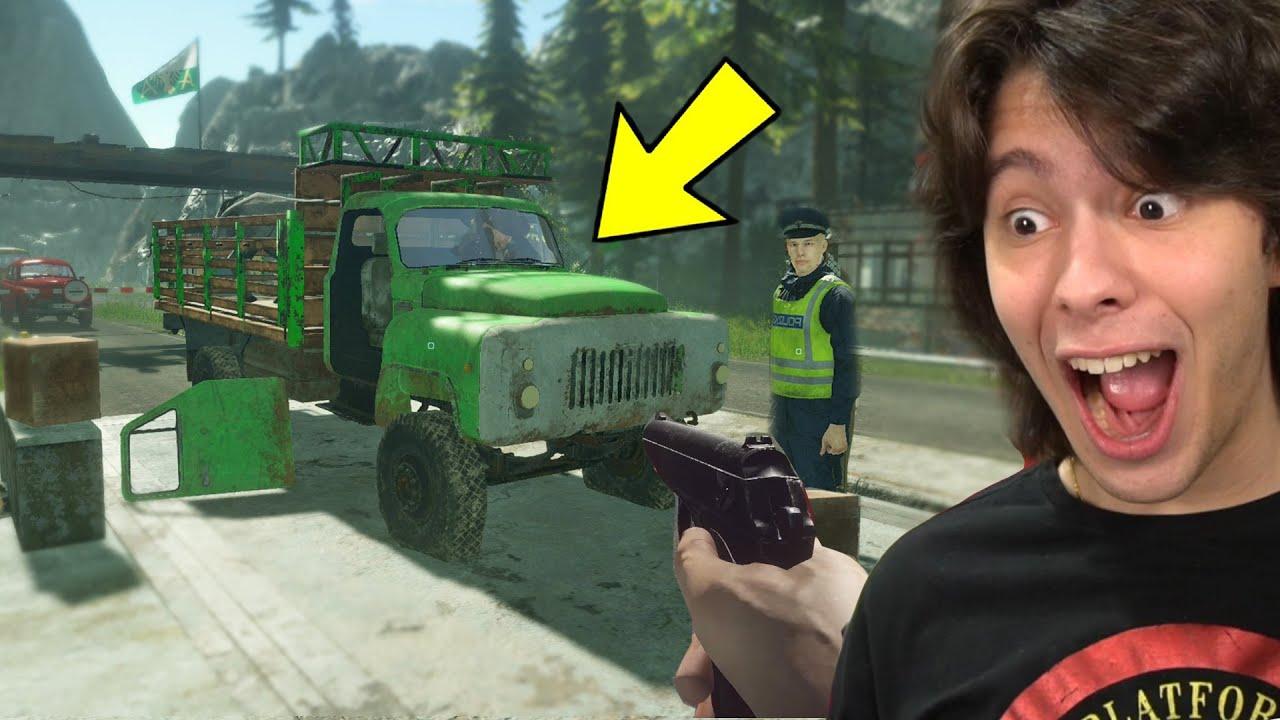 JOGANDO COMO UM POLICIAL DA FRONTEIRA!! (Police Contraband #1)