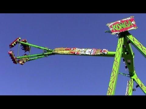 Konga off-ride HD Größte Kirmes am Rhein