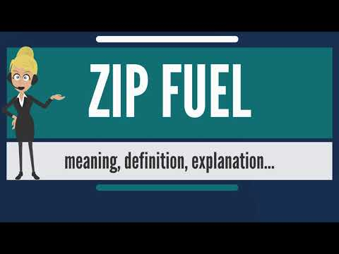 What is ZIP FUEL? What does ZIP FUEL mean? ZIP FUEL meaning, definition & explanation