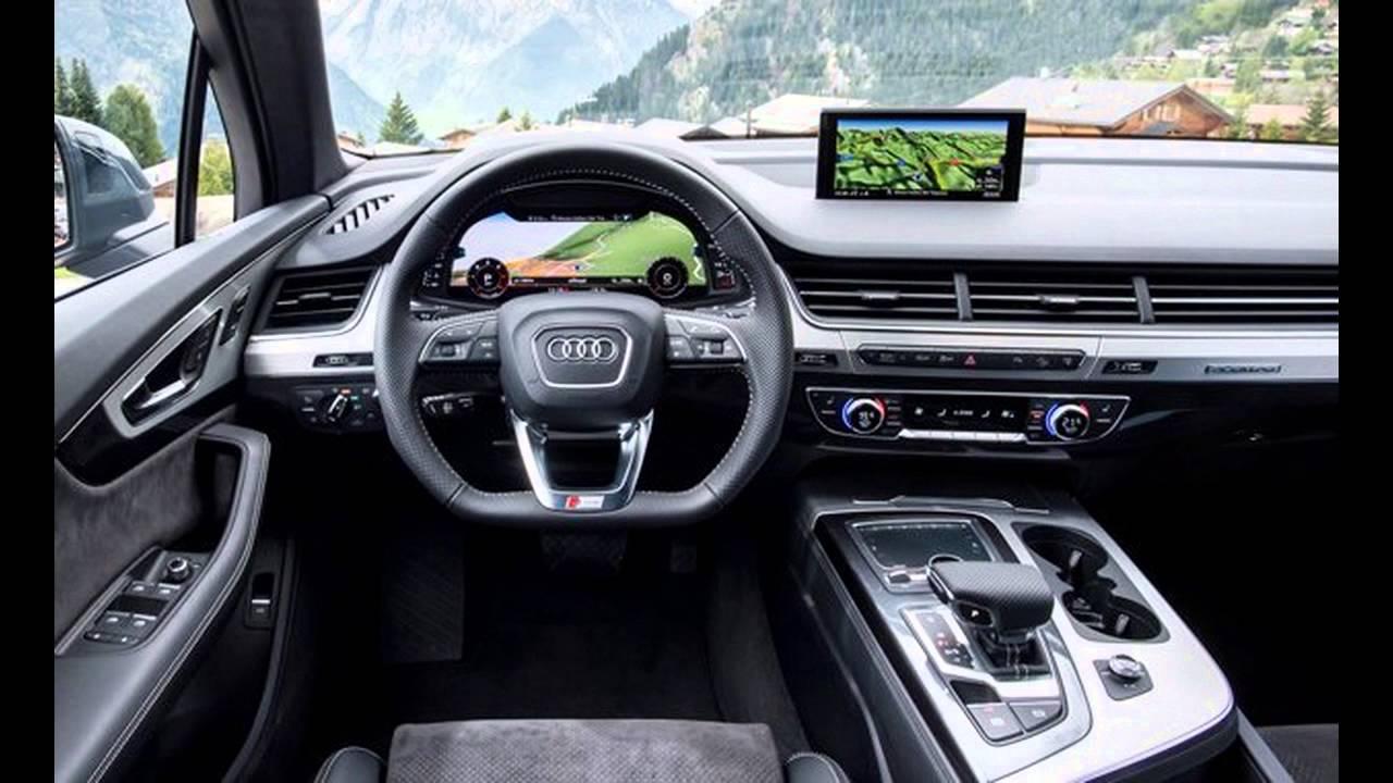 Audi 2016 audi q7 : 2016 Audi Q7 interior - YouTube