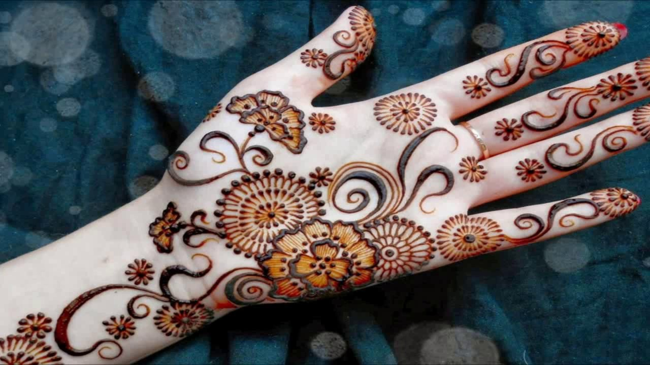 Download Beautiful Mehndi Design Wallpapers