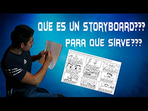 que es un storyboard y como hacer uno  youtube