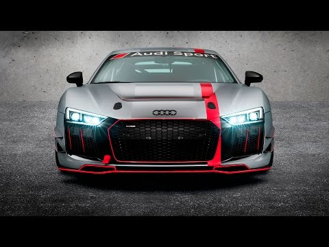 New Audi R8 LMS GT4 - Sports Edition