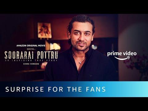 Suriya's Surprise - Fan Poster | Soorarai Pottru | Suriya | Amazon Original Movie | Nov 12