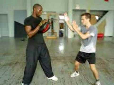 Wing Chun (TWC)  pad drill 1