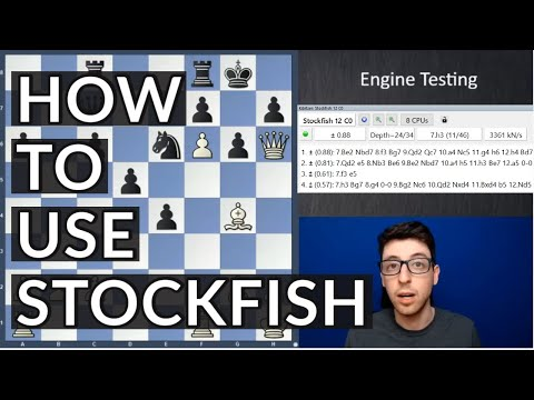 How To Work With Stockfish | Kostya's Blueprint