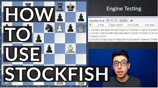 How to Work With Stockfish | Kostya's Blueprint screenshot 2