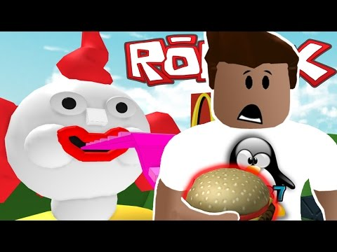 ESCAPE MCDONALDS CHALLENGE! | Roblox