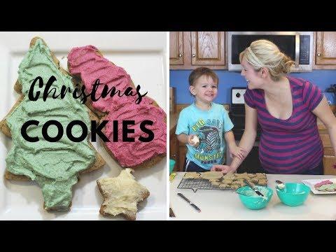 Christmas Cookies (gluten-free, Refined Sugar-free, Paleo)