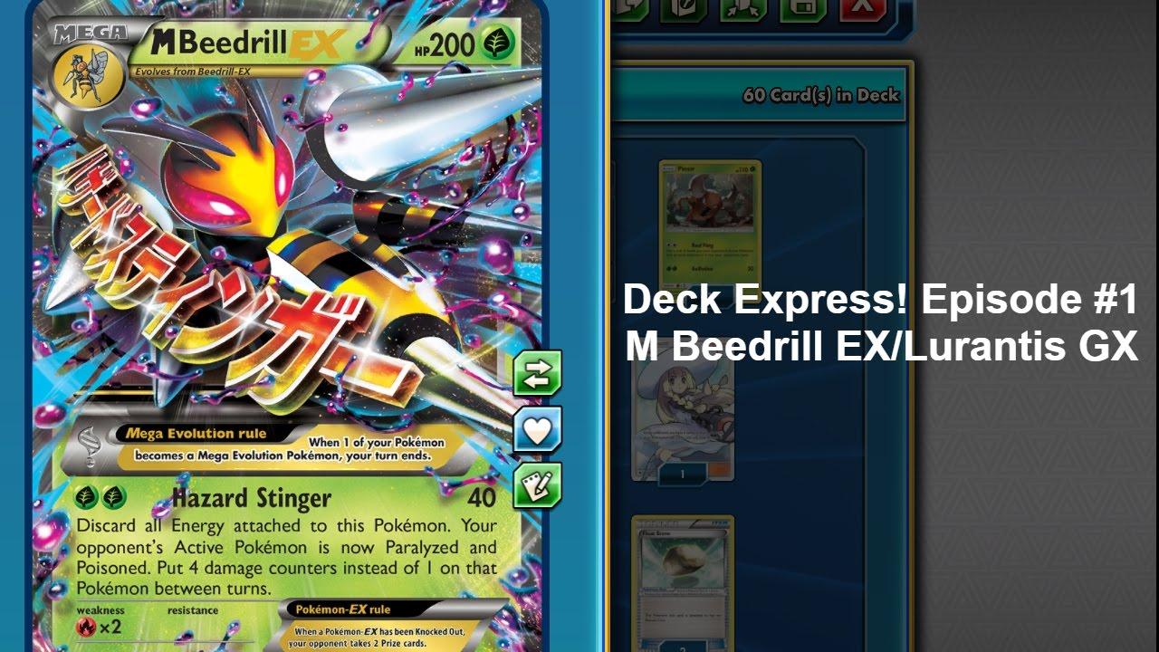 M Beedrill Ex Deck Express Episode #...