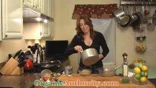 Lemon Herb Organic Quinoa Recipe