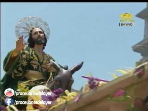 2017 Semana Santa Guatemala Domingo de Ramos Jesús de las Palmas Templo San Miguel Capuchinas