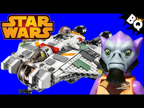 LEGO Star Wars The Ghost 75053 Disney Rebels Review - BrickQueen